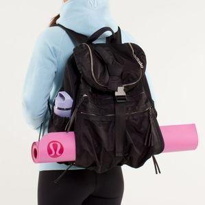 RARE Lululemon Best Practice Pack Yoga Backpack